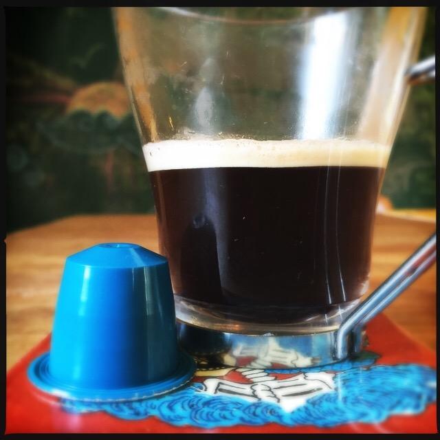 Rosso Caffe's Delicato cup and capsule