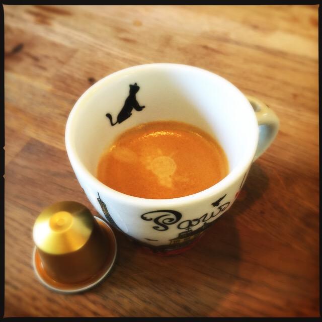 Nespresso's Volluto espresso and capsule