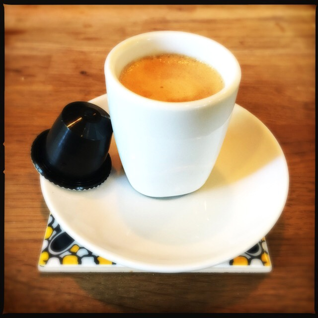 Rosso Caffe's Gentleman capsule and cup