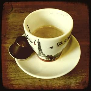 Cosi Nespresso capsule and cup