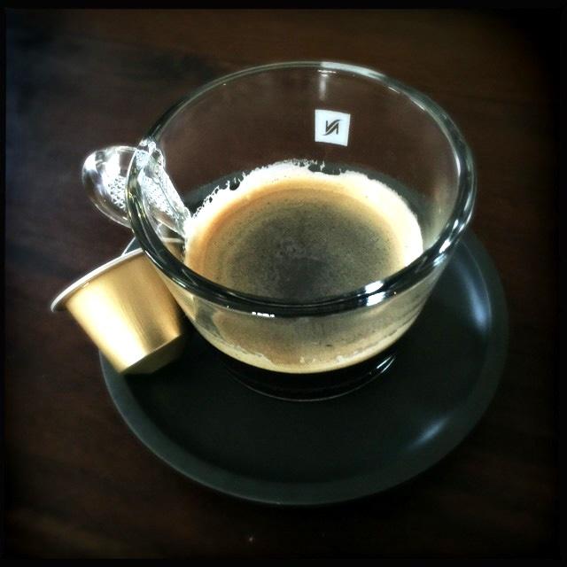 Nespresso's Dulsão do Brasil coffee capsule box