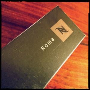 Roma Nespresso capsule box