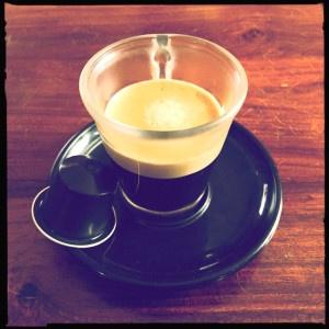 Roma Nespresso capsule and cup