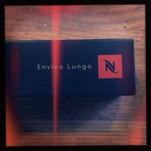 Envivo Lungo Nespresso capsule box