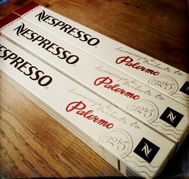 Tribute to Palermo Nespresso capsules