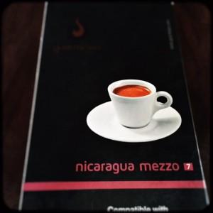 Nicaragua Mezzo Gourmesso capsule box