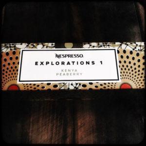 Kenya Peaberry Nespresso capsule box