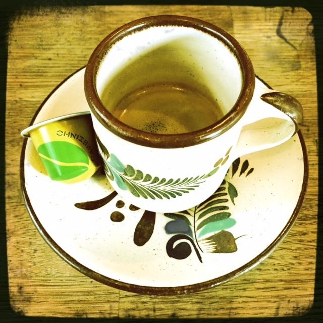 Nespresso's Cafezinho De Brasil capsule and coffee cup