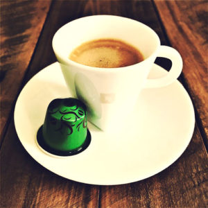 Robusta Uganda Nespresso capsule review and cup