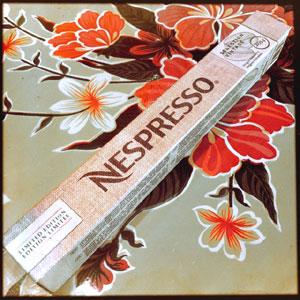 Selection Vintage 2014 Nespresso capsule box