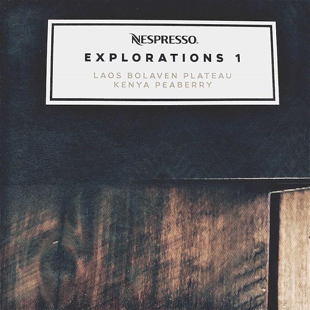 Nespresso Explorations 1 Capsules